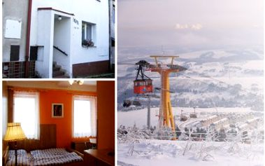 6 denní pobyt pro dva v apartmánu penzionu Jáchymov. Vyberte si letní termín pro cykloturistiku nebo zimní termín s lyžováním za 1699 Kč.