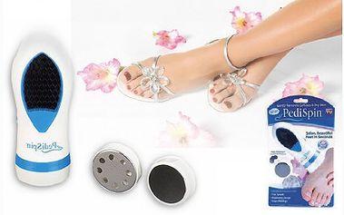 Báječných 139 Kč za domácí elektronickou pedikúru. Dopřejte si profesionální péči o nohy v pohodlí vašeho domova. Tento vynikající pomocník je určen zejména pro paty, palce a prsty na nohou.