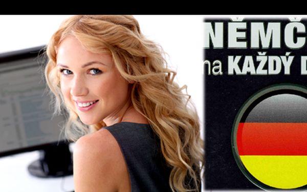 Multimediální učebnice němčina na každý den za 49 kč i z úplného začátečníka udělá zkušeného germanistu. Poštovné v ceně!