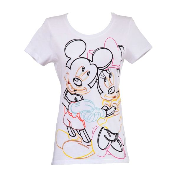Dámské triko Fun T-Shirts bílé Disney