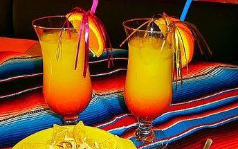 Tequila Sunrise pre dvoch a Nachos so syrom