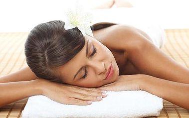 Regenerační masáž zad a krční páteře nebo zad a ru...