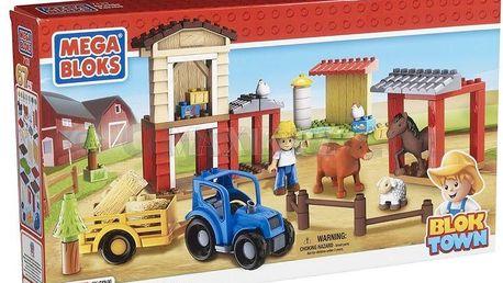 Megabloks Mini - Blok Town Farma. Postavte si farmu z kostiček od MegaBloks.