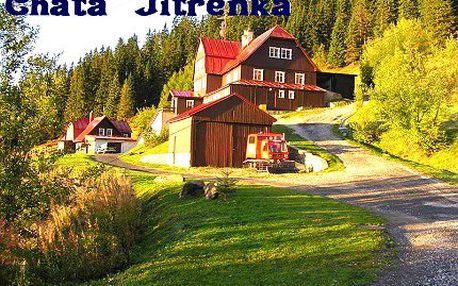 4 dny pro dva v horské chatě Jitřenka v Peci pod Sněžkou!
