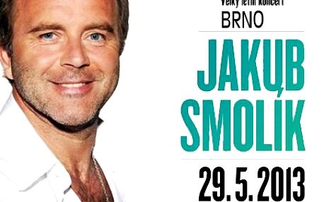 Live koncert Jakuba Smolíka s kapelou 29.5.2013 v Brně!