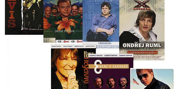 CD Hudební komplet - různé 4CD+3DVD (Elvis Presley + František Nedvěd + Martin Chodur + Karel Zich + Ondřej Ruml + Hana Hegerová + Bratři Ebenové)