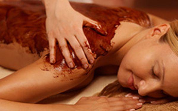 Luxusní čokoládová masáž v délce 100 minut