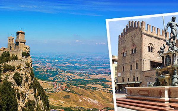 Třídenní výlet do Bologni a San Marina