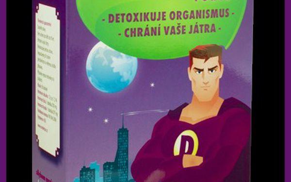 Mr. Detox - doplněk stravy pro detoxikaci organismu - nejlepší investice je do zdraví!