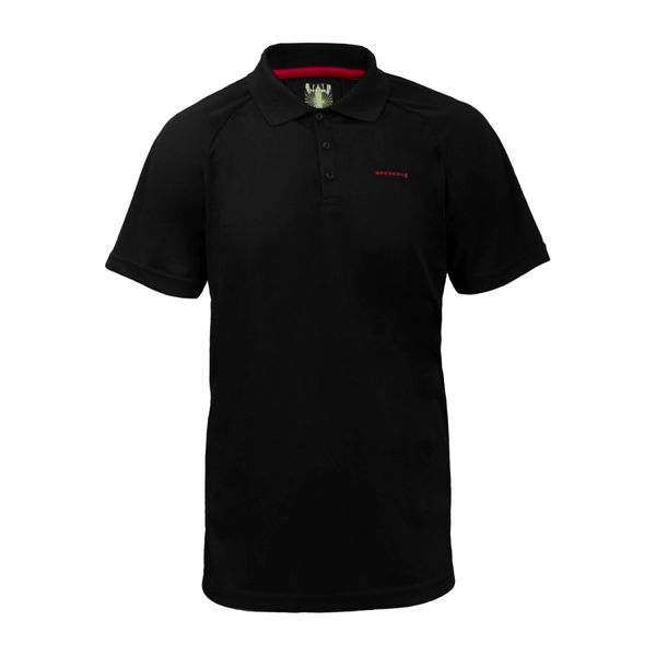 Pánské polo triko Envy černé límeček