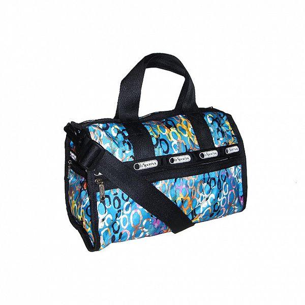 Tyrkysová víkendová taška LeSportsac