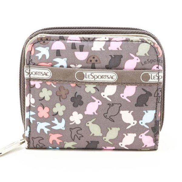 Dámska béžová peňaženka LeSportsac s králičkami