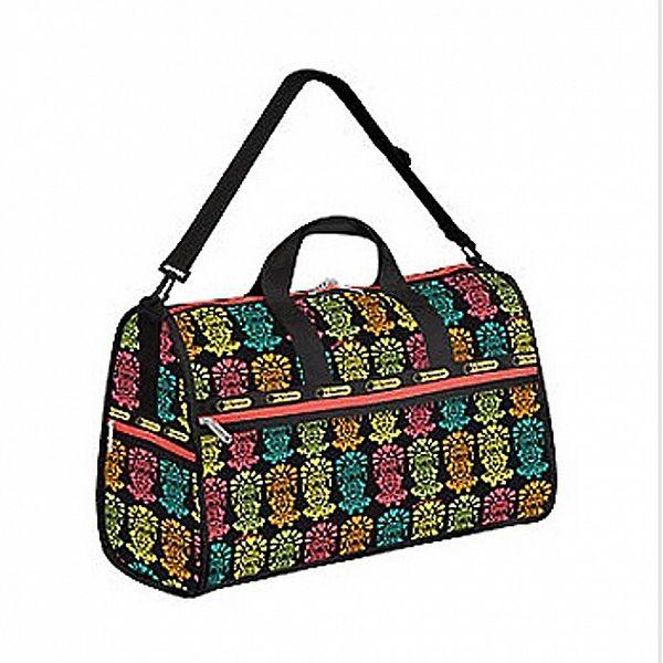 Dámská petře barevná cestovní taška LeSportsac