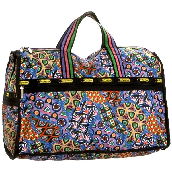 Dámska velká pestro vzorovaná cestovná taška LeSportsac