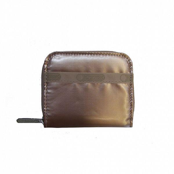 Dámská zlatá lesklá peněženka LeSportsac