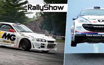 2denní vstupenky na adrenalinovou RallyShow