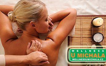 Jen 180 Kč za půlhodinovou masáž zad a šíje + zábal na prohřátí svalů pro lepší účinek ve Wellness U Michala v Plzni. Příjemný relax, až se Vám nebude chtít jít domů:-)
