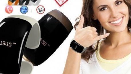 Elegantný, vibračný bluetooth náramok s možnosťou priameho volania, časovým displejom a množstvom ďalších funkcií.