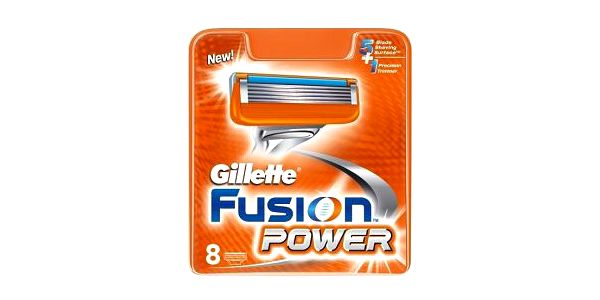 Oholte se k naprosté dokonalosti! S těmito náhradními hlavicemi k holícímu strojku Gillette Fusion Power se Vám splní sen o hladké tváři!