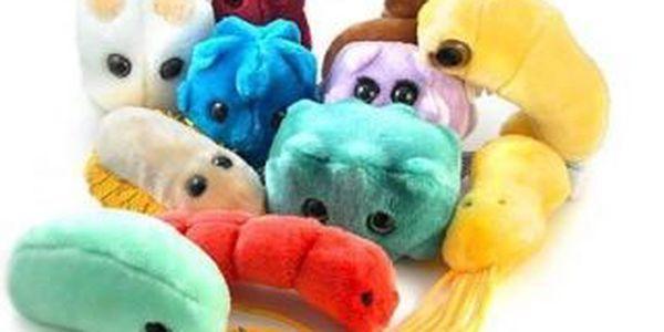 Obří plyšoví mikrobi