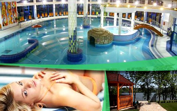 Vychutnejte si 4 dny relaxu s wellness a polopenzí na břehu Dunaje pro dvě osoby
