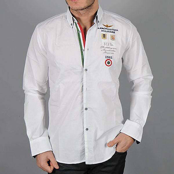 Bílá košile Italy