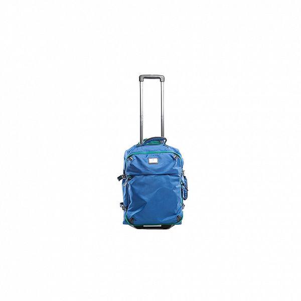 Modro zelený kufor na kolieskach Tommy Hilfiger