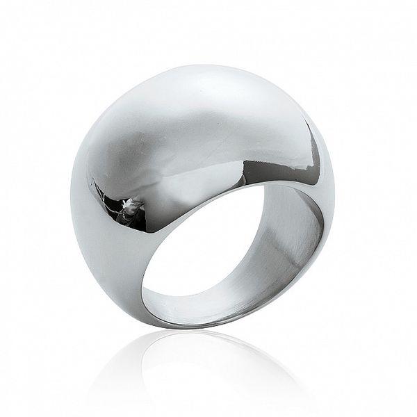 Dámsky jednoduchý oceľový prsteň La Mimossa