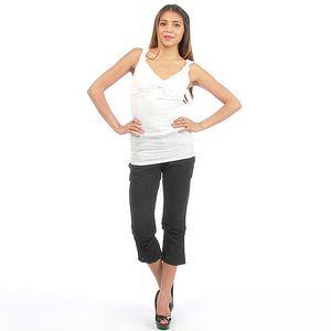 Dámské černé capri kalhoty Anabelle