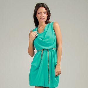 Dámske tyrkysové šaty Anabelle