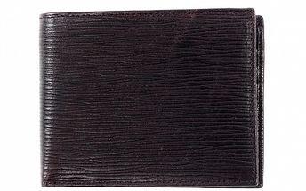 Pánska tmavo hnedá peňaženka Bagatt