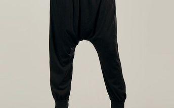 Dámské černé harémové kalhoty Anabelle