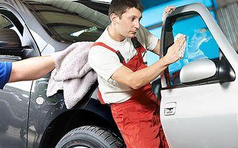 Ručne umytie vášho automobilu