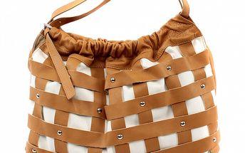 Dámska krémovo-ťavia kabelka Bagatt