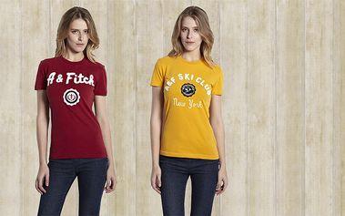 Dámská trička Abercrombie & Fitch