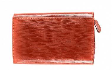 Dámska hnedo-oranžová peňaženka Bagatt