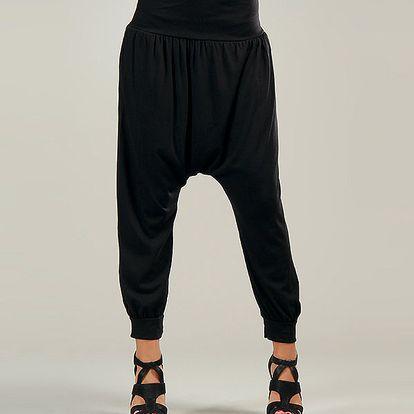 Dámske čierne harémové nohavice Anabelle