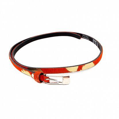 Dámský oranžovo-béžový pásek Bagatt