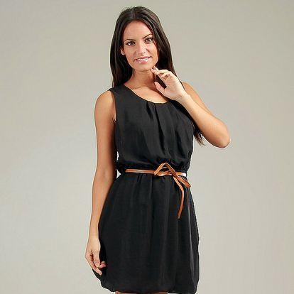 Dámske čierne šaty Anabelle