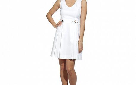 Dámske biele šaty s vreckami Red Valentino