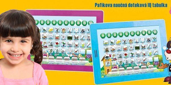 Dětský tablet Pafíkův šikulka