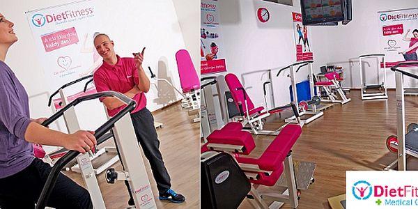 Dvě zkušební lekce kruhového tréninku v luxusním fitness centru pouze pro ženy