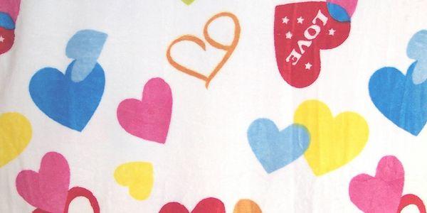 Hebká deka z mikrovlákna - Láska
