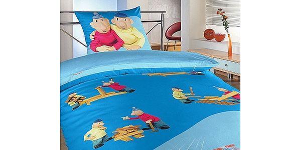 Dětské bavlněné povlečení Pat a Mat 140x200 Jerry Fabrics