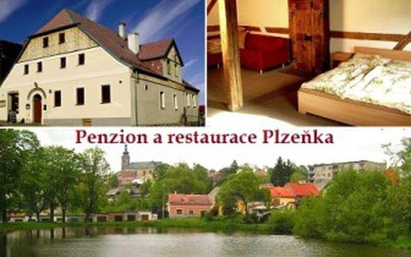 3denní ROMANTIKA pro dva u Mariánských Lázní! POBYT s POLOPENZÍ v penzionu Plzeňka v Teplé.