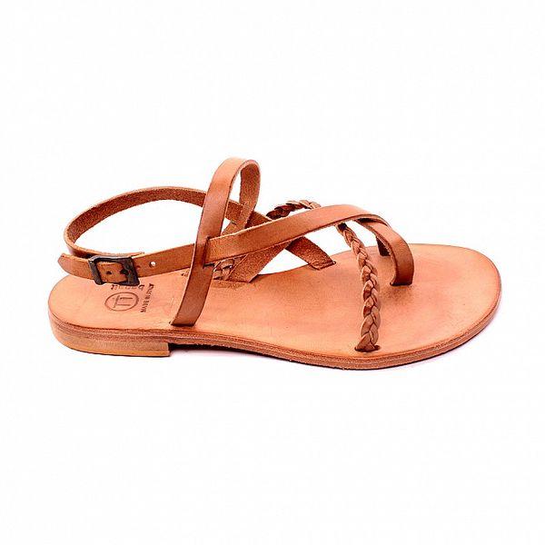 Dámske béžové sandálky Bagatt