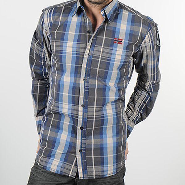Pánská kostkovaná košile