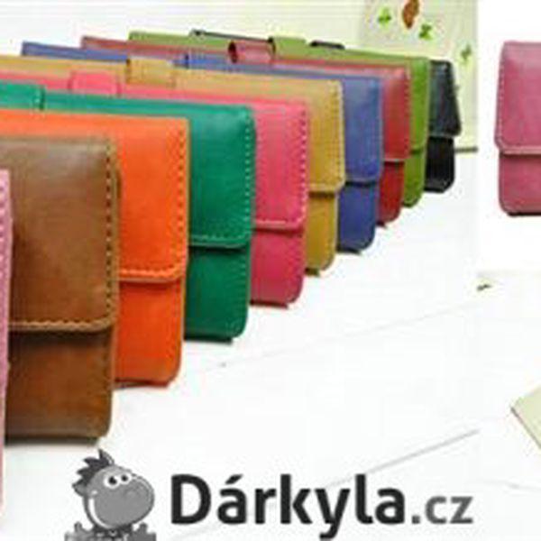 Dámská růžová peněženka Herm