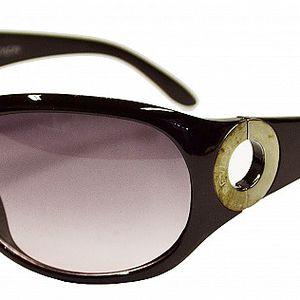 Dámske tmavo hnedé slnečné okuliare Revlon