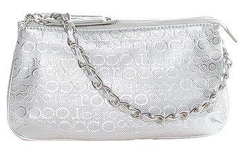 Stříbrná kabelka s řetízkem